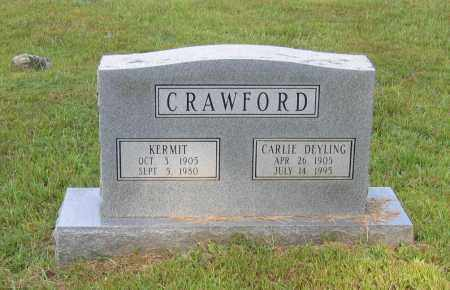 DEYLING CRAWFORD, CARLIE ELIZABETH - Lawrence County, Arkansas | CARLIE ELIZABETH DEYLING CRAWFORD - Arkansas Gravestone Photos