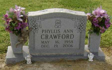 "CRAWFORD, PHYLLIS ANN ""PEAGIE"" - Lawrence County, Arkansas 