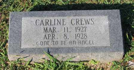 CREWS, CARLINE - Lawrence County, Arkansas | CARLINE CREWS - Arkansas Gravestone Photos