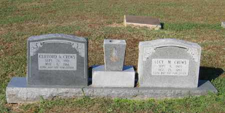 CREWS, CLIFFORD A. - Lawrence County, Arkansas | CLIFFORD A. CREWS - Arkansas Gravestone Photos