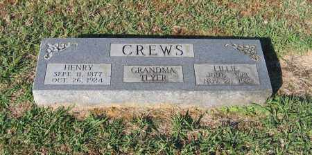 CREWS, LILLIE - Lawrence County, Arkansas | LILLIE CREWS - Arkansas Gravestone Photos
