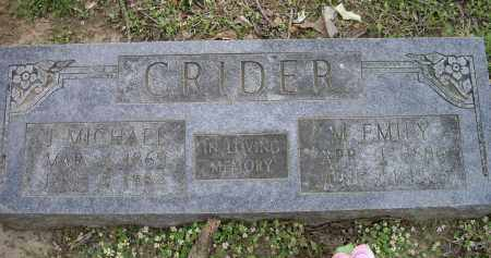 "CRIDER, JOSEPH MICHAEL ""J.M"" - Lawrence County, Arkansas 
