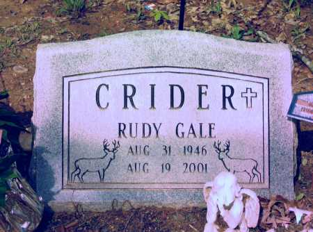 CRIDER, RUDY GALE - Lawrence County, Arkansas | RUDY GALE CRIDER - Arkansas Gravestone Photos