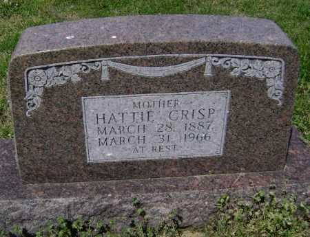 CRISP, HATTIE - Lawrence County, Arkansas | HATTIE CRISP - Arkansas Gravestone Photos
