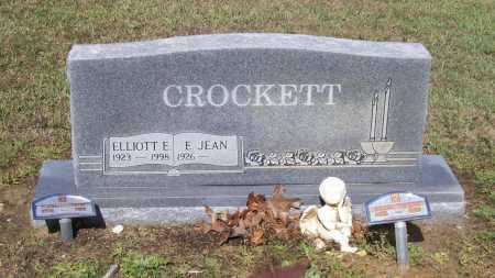 CROCKETT, ELEANOR JEAN - Lawrence County, Arkansas | ELEANOR JEAN CROCKETT - Arkansas Gravestone Photos
