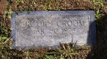 CROOM, BROOKS - Lawrence County, Arkansas | BROOKS CROOM - Arkansas Gravestone Photos