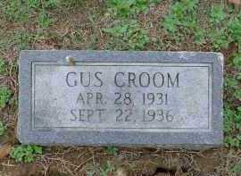 CROOM, CLARENCE GUS - Lawrence County, Arkansas | CLARENCE GUS CROOM - Arkansas Gravestone Photos