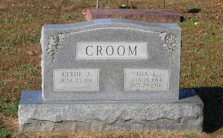 CROOM, JAMES CLYDE - Lawrence County, Arkansas | JAMES CLYDE CROOM - Arkansas Gravestone Photos