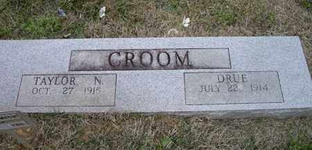 CROOM, TAYLOR N. - Lawrence County, Arkansas | TAYLOR N. CROOM - Arkansas Gravestone Photos