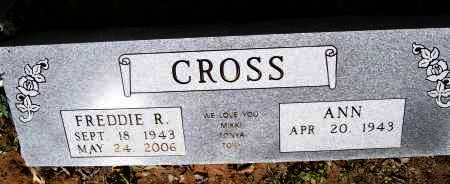 CROSS, FREDDIE R. - Lawrence County, Arkansas | FREDDIE R. CROSS - Arkansas Gravestone Photos