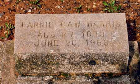 HARRIS, FANNIE CULLENDER CROSS CAW - Lawrence County, Arkansas | FANNIE CULLENDER CROSS CAW HARRIS - Arkansas Gravestone Photos