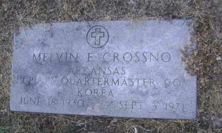 CROSSNO  (VETERAN KOR), MELVIN EUGENE - Lawrence County, Arkansas | MELVIN EUGENE CROSSNO  (VETERAN KOR) - Arkansas Gravestone Photos