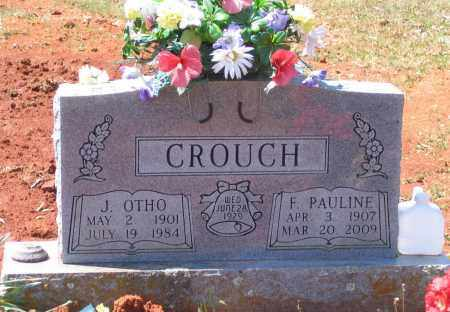 CROUCH, FLORA PAULINE - Lawrence County, Arkansas | FLORA PAULINE CROUCH - Arkansas Gravestone Photos