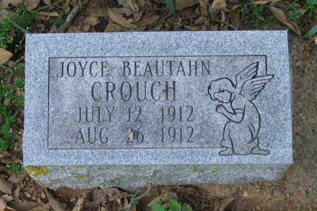 CROUCH, JOYCE BEAUTAHN - Lawrence County, Arkansas | JOYCE BEAUTAHN CROUCH - Arkansas Gravestone Photos