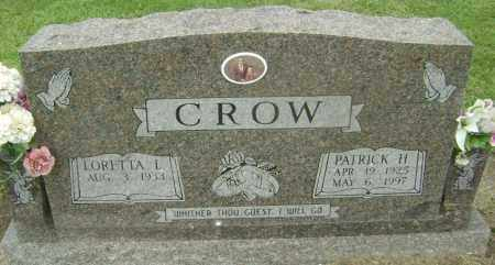CROW, PATRICK HENRY - Lawrence County, Arkansas | PATRICK HENRY CROW - Arkansas Gravestone Photos