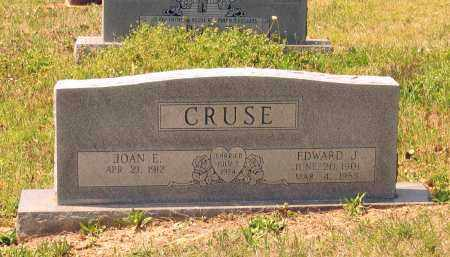 CRUSE, EDWARD JACOB - Lawrence County, Arkansas | EDWARD JACOB CRUSE - Arkansas Gravestone Photos