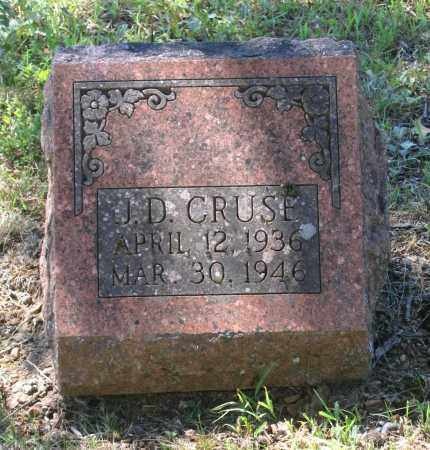 CRUSE, J. D. - Lawrence County, Arkansas | J. D. CRUSE - Arkansas Gravestone Photos