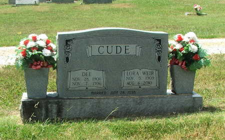 CUDE, DEE - Lawrence County, Arkansas | DEE CUDE - Arkansas Gravestone Photos