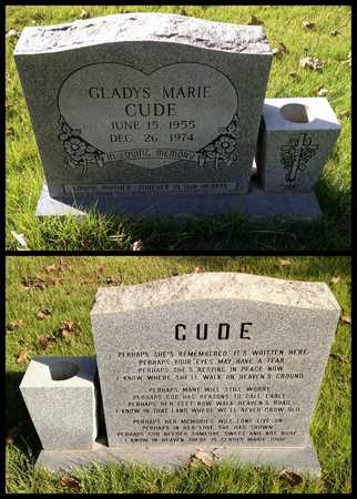 CUDE, GLADYS MARIE - Lawrence County, Arkansas | GLADYS MARIE CUDE - Arkansas Gravestone Photos