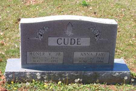 CUDE, ANNA FAY - Lawrence County, Arkansas | ANNA FAY CUDE - Arkansas Gravestone Photos