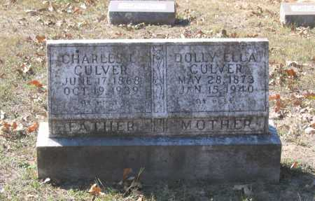 CULVER, DOLLY ELLA - Lawrence County, Arkansas | DOLLY ELLA CULVER - Arkansas Gravestone Photos