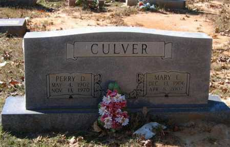 CULVER, PERRY DOUGLAS - Lawrence County, Arkansas | PERRY DOUGLAS CULVER - Arkansas Gravestone Photos