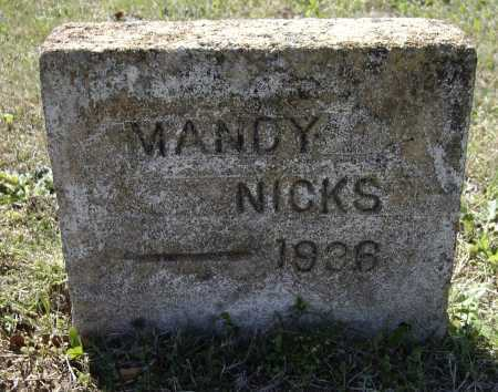 "NIX, AMANDA HELMS CUNNINGHAM ""MANDY"" - Lawrence County, Arkansas 