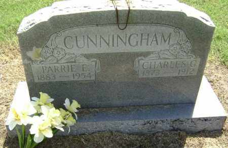 CUNNINGHAM, PARRIE E. - Lawrence County, Arkansas | PARRIE E. CUNNINGHAM - Arkansas Gravestone Photos