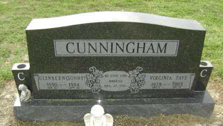 CUNNINGHAM, VIRGINIA FAYE - Lawrence County, Arkansas | VIRGINIA FAYE CUNNINGHAM - Arkansas Gravestone Photos