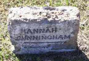 CUNNINGHAM, HANNAH - Lawrence County, Arkansas | HANNAH CUNNINGHAM - Arkansas Gravestone Photos