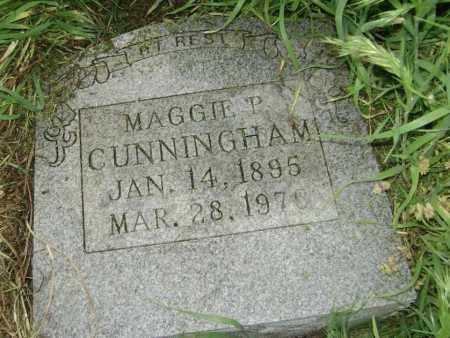 CUNNINGHAM, MAGGIE P. - Lawrence County, Arkansas | MAGGIE P. CUNNINGHAM - Arkansas Gravestone Photos