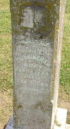 CUNNINGHAM (VETERAN CSA), HENRY CLAY - Lawrence County, Arkansas | HENRY CLAY CUNNINGHAM (VETERAN CSA) - Arkansas Gravestone Photos
