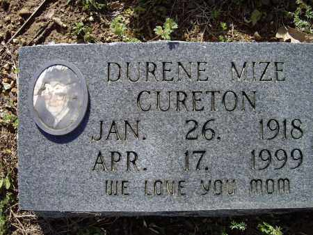 CURETON, DURENE NELIA - Lawrence County, Arkansas | DURENE NELIA CURETON - Arkansas Gravestone Photos