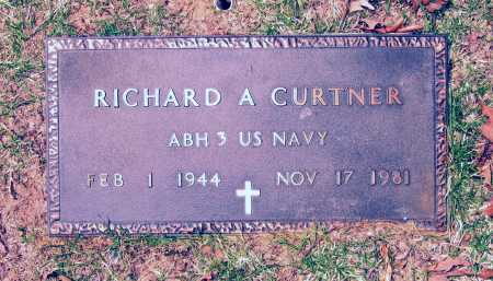 CURTNER (VETERAN), RICHARD A - Lawrence County, Arkansas | RICHARD A CURTNER (VETERAN) - Arkansas Gravestone Photos