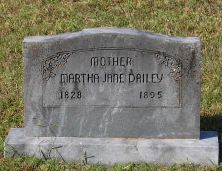 DAILEY, MARTHA JANE - Lawrence County, Arkansas | MARTHA JANE DAILEY - Arkansas Gravestone Photos