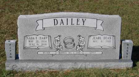 DAILEY, NADA ELIZABETH - Lawrence County, Arkansas | NADA ELIZABETH DAILEY - Arkansas Gravestone Photos