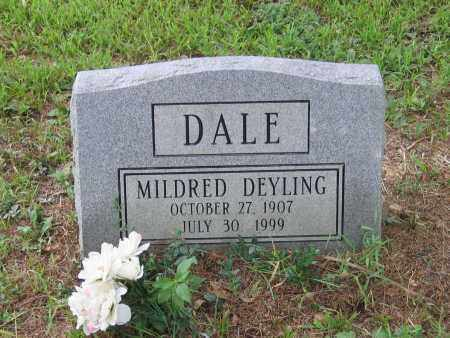 DEYLING DALE, MILDRED - Lawrence County, Arkansas | MILDRED DEYLING DALE - Arkansas Gravestone Photos