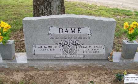 DAME, CHARLES EDWARD - Lawrence County, Arkansas | CHARLES EDWARD DAME - Arkansas Gravestone Photos
