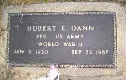 DANN  (VETERAN WWII), HUBERT E - Lawrence County, Arkansas | HUBERT E DANN  (VETERAN WWII) - Arkansas Gravestone Photos