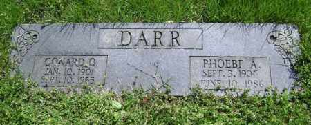 DARR, PHOEBE A. - Lawrence County, Arkansas | PHOEBE A. DARR - Arkansas Gravestone Photos