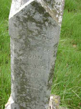 DARTER, SOLOMON S. - Lawrence County, Arkansas | SOLOMON S. DARTER - Arkansas Gravestone Photos