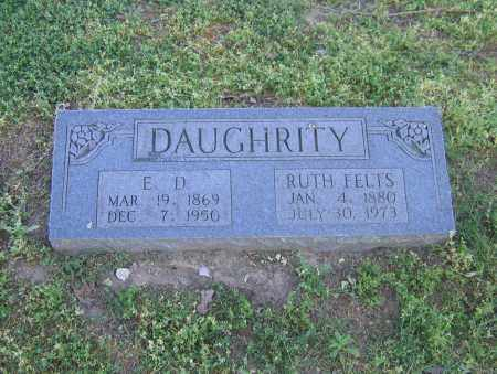 FELTS DAUGHRITY, RUTH - Lawrence County, Arkansas | RUTH FELTS DAUGHRITY - Arkansas Gravestone Photos