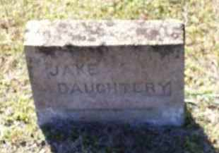 DAUGHTERY, JAKE - Lawrence County, Arkansas | JAKE DAUGHTERY - Arkansas Gravestone Photos