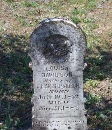 "DAVIDSON, ELIZABETH P. ""LOUISA"" - Lawrence County, Arkansas 