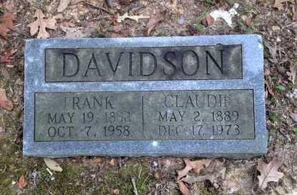 DAVIDSON, CLAUDIE - Lawrence County, Arkansas | CLAUDIE DAVIDSON - Arkansas Gravestone Photos