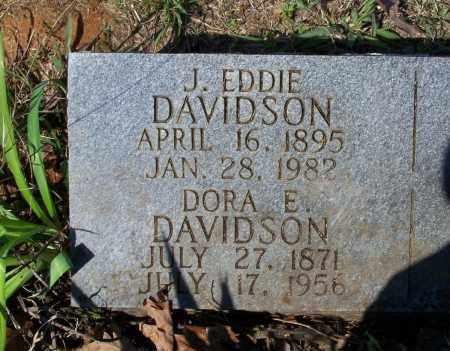 "DAVIDSON, JOSEPH EDGAR ""J. EDDIE"" - Lawrence County, Arkansas | JOSEPH EDGAR ""J. EDDIE"" DAVIDSON - Arkansas Gravestone Photos"