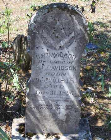 DAVIDSON, SAMUEL H. - Lawrence County, Arkansas | SAMUEL H. DAVIDSON - Arkansas Gravestone Photos