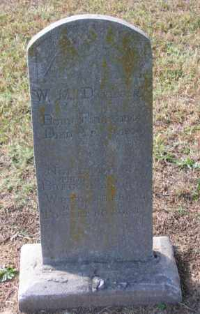 DAVIDSON (VETERAN CSA), WILLIAM M. - Lawrence County, Arkansas | WILLIAM M. DAVIDSON (VETERAN CSA) - Arkansas Gravestone Photos
