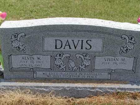 DAVIS, ALVIN WILSON - Lawrence County, Arkansas | ALVIN WILSON DAVIS - Arkansas Gravestone Photos