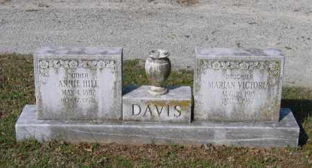 HILL DAVIS, ANNIE - Lawrence County, Arkansas | ANNIE HILL DAVIS - Arkansas Gravestone Photos